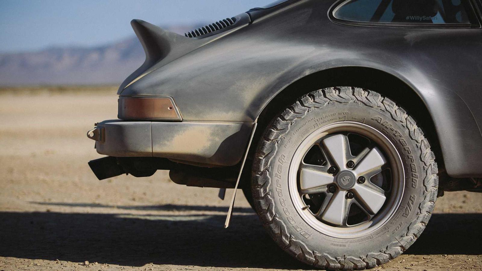 La zăng của xe vẫn được giữ nguyên bản