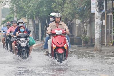 """Những hư hại dễ gặp phải khi xe tay ga """"lội nước"""""""