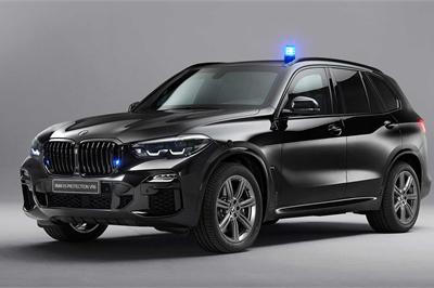 BMW X5 thế hệ mới đã có bản bọc thép cực an toàn