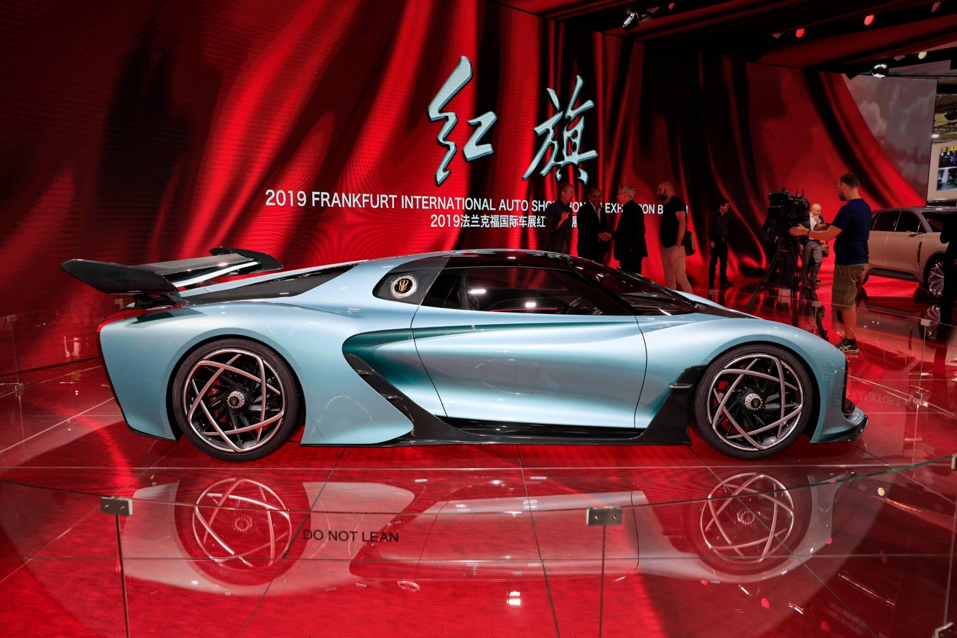 Thiết kế thân xe Hongqi S9