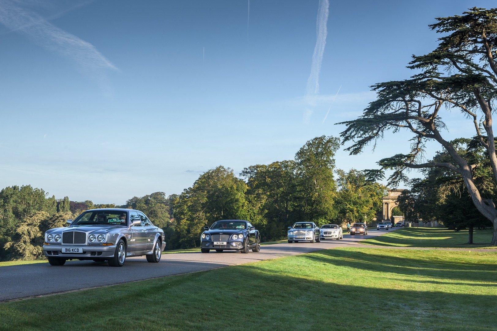 Sự kiện lập kỉ lục về số lượng Bentley cùng tụ họp ở 1 nơi