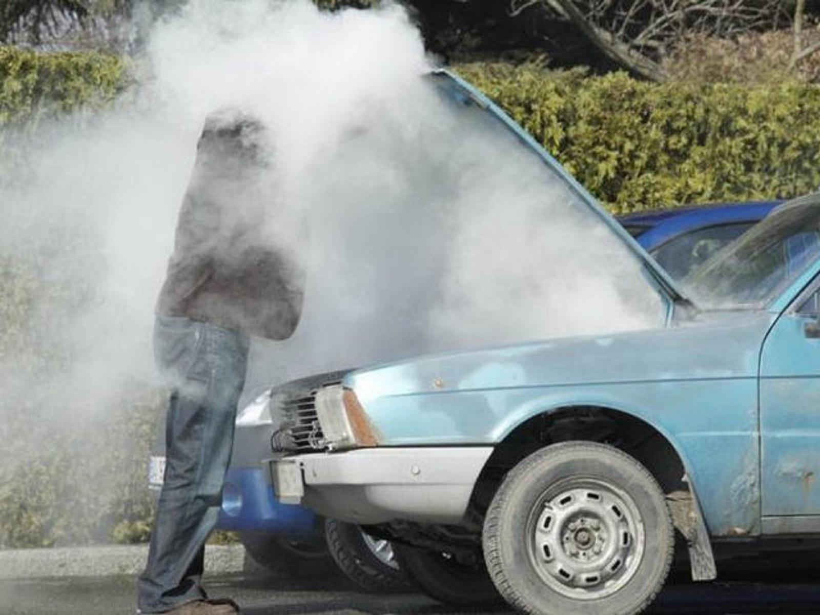 cách xử lý khi động cơ bị nóng