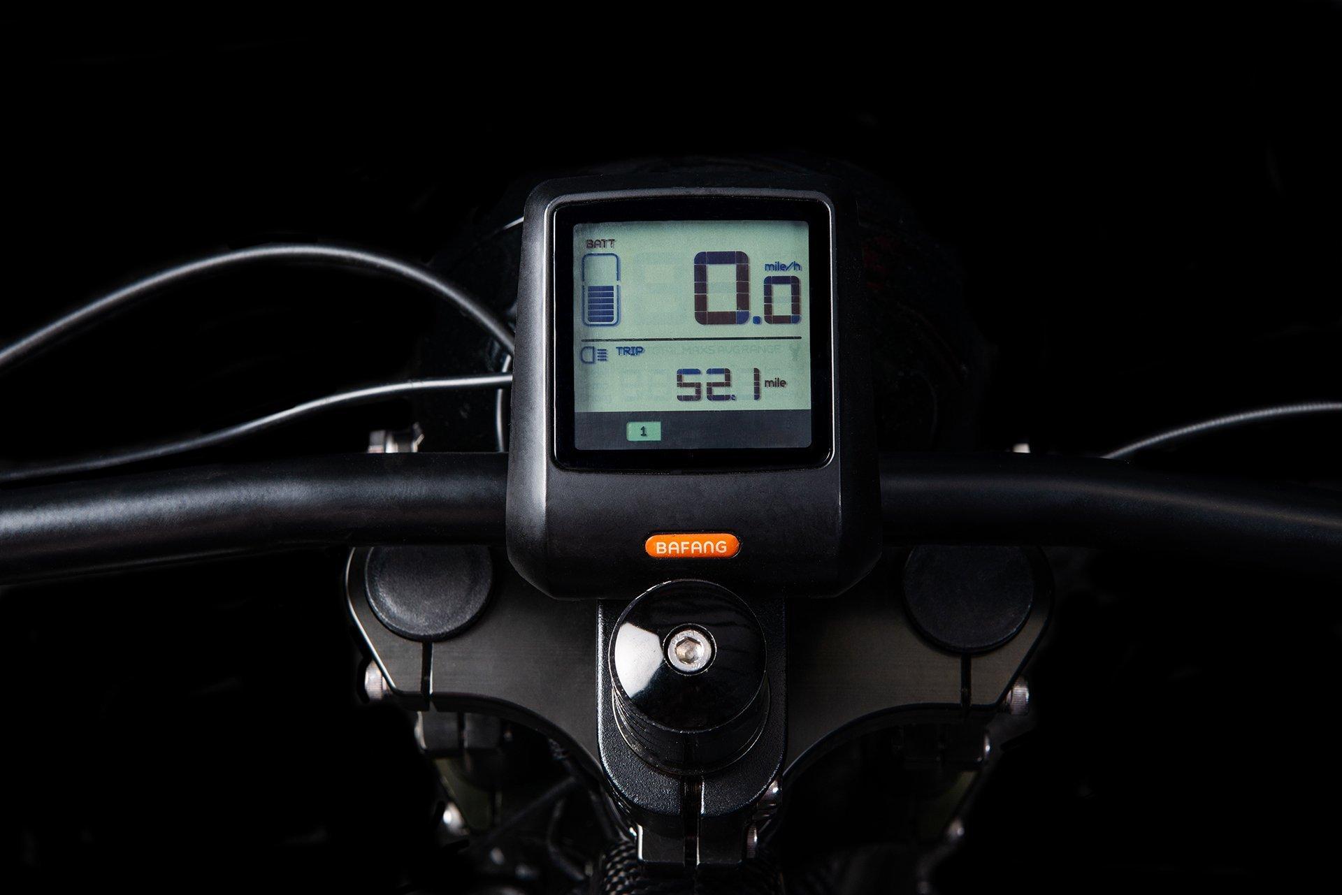 Đồng hồ hiển thị trên xe đạp Kahn