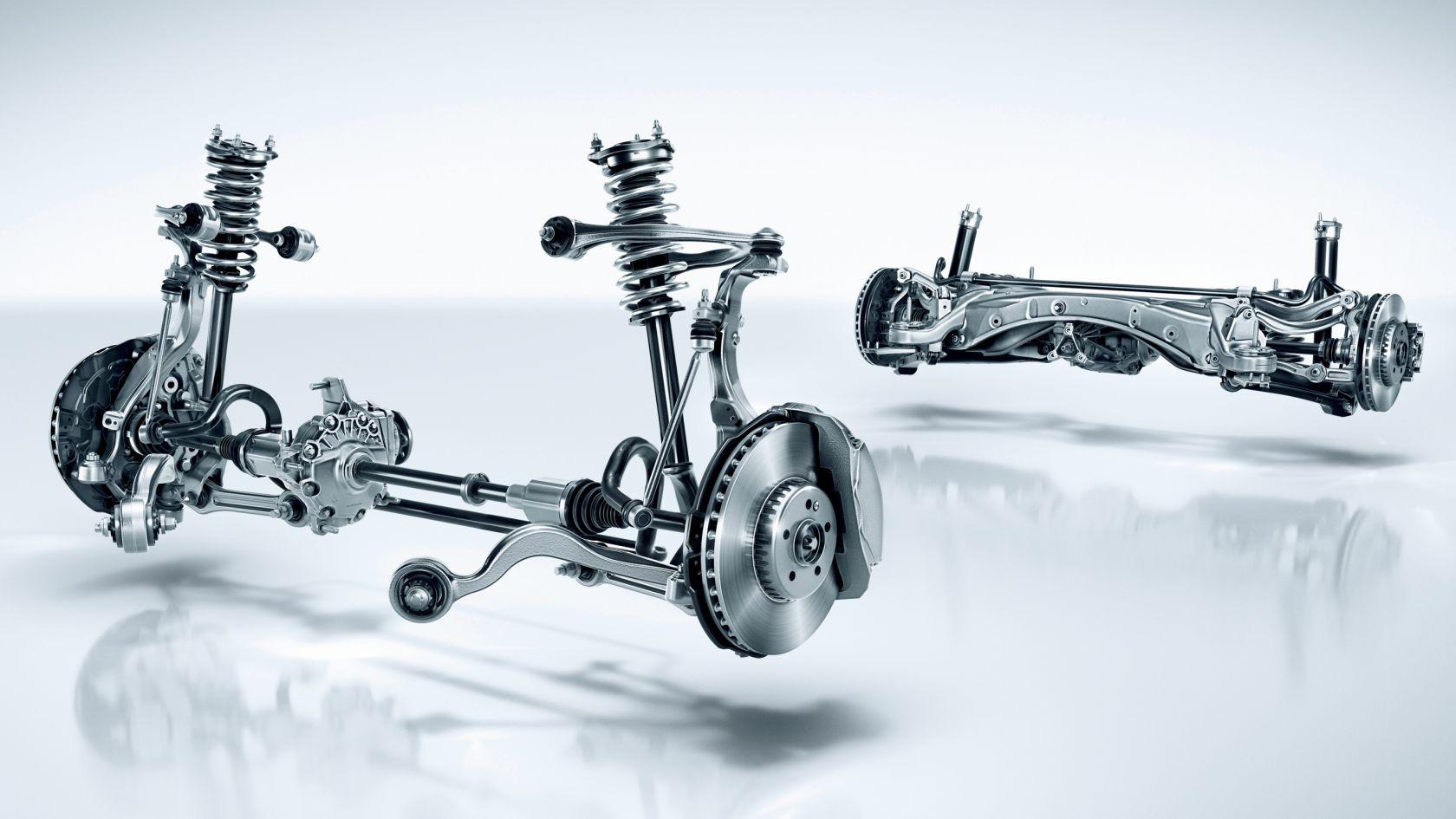 Công nghệ giảm xóc trên xe Mercedes