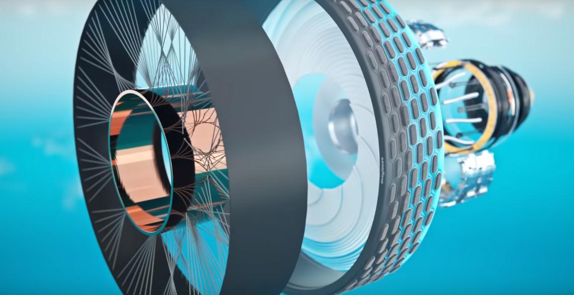 Công nghệ lốp xe thông minh của Goodyear.