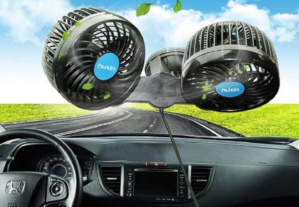 Quạt thông khí nóng khi đỗ xe