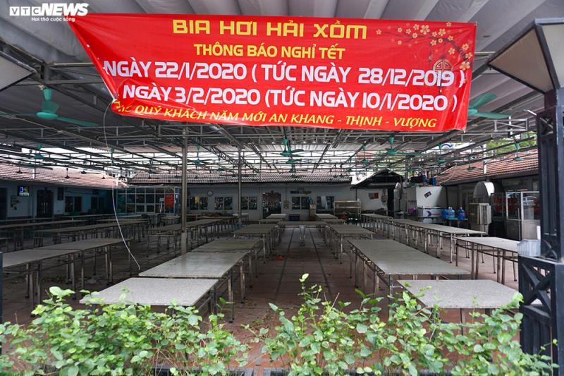 Hậu Nghị định 100 và Covid-19: Nhiều quán bia lớn ở Hà Nội đóng cửa - 2