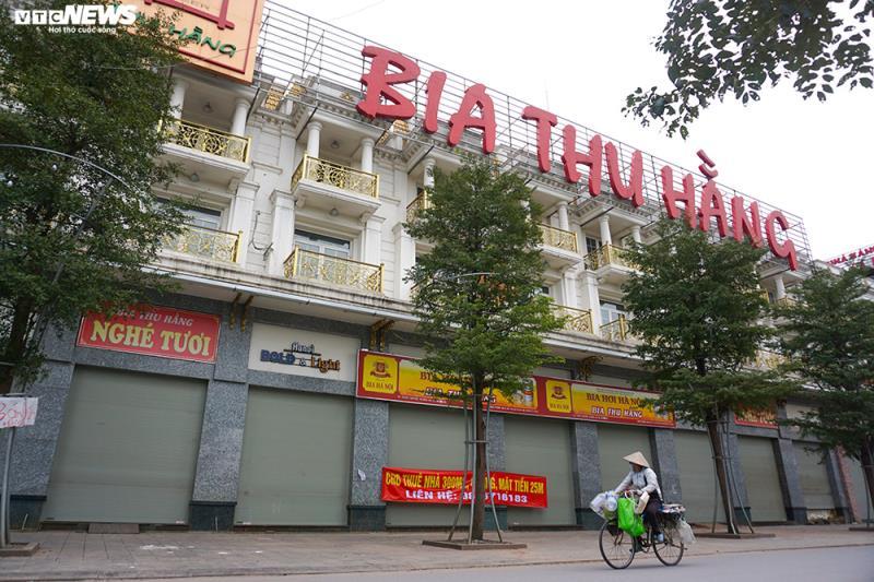 Hậu Nghị định 100 và Covid-19: Nhiều quán bia lớn ở Hà Nội đóng cửa - 9