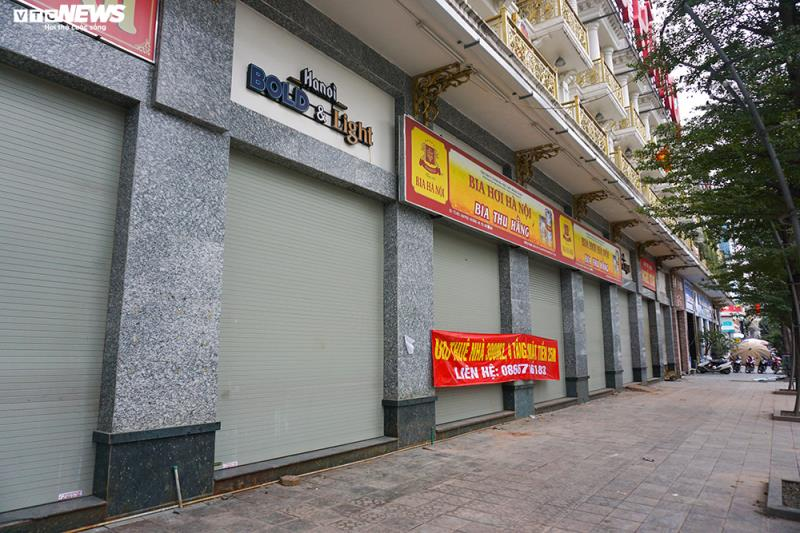 Hậu Nghị định 100 và Covid-19: Nhiều quán bia lớn ở Hà Nội đóng cửa - 10