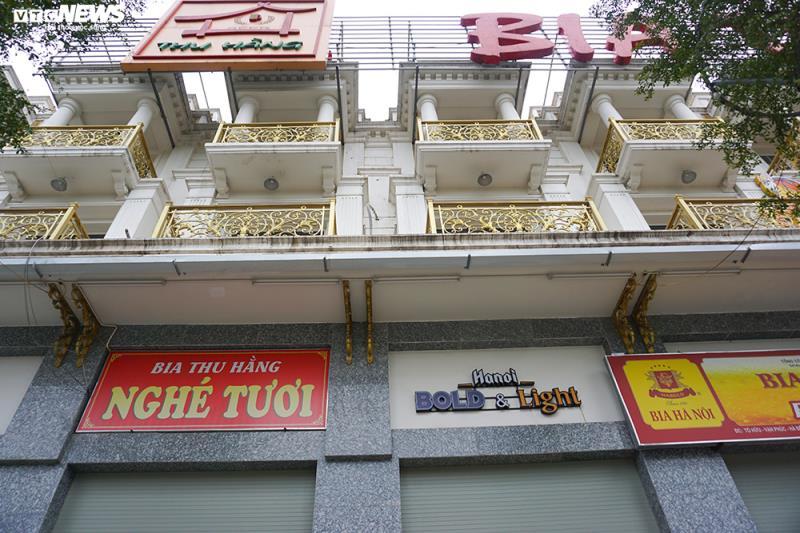 Hậu Nghị định 100 và Covid-19: Nhiều quán bia lớn ở Hà Nội đóng cửa - 12