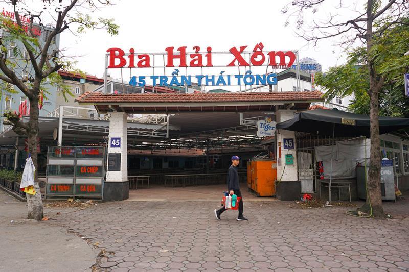 Hậu Nghị định 100 và Covid-19: Nhiều quán bia lớn ở Hà Nội đóng cửa - 1