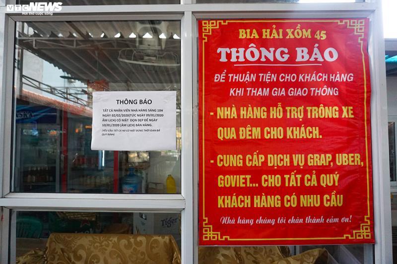 Hậu Nghị định 100 và Covid-19: Nhiều quán bia lớn ở Hà Nội đóng cửa - 7