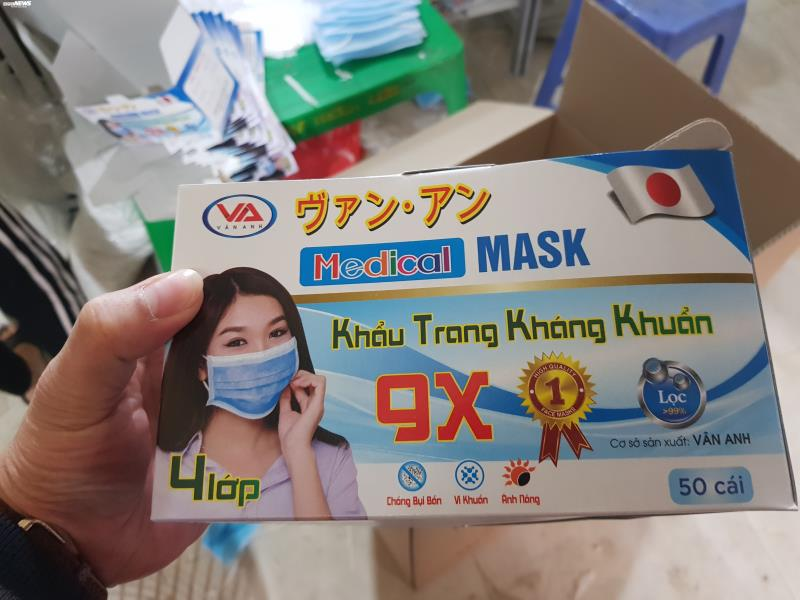 Ảnh: Cảnh sản xuất khẩu trang lộn xộn, nghi kém chất lượng ở Bắc Ninh - 14