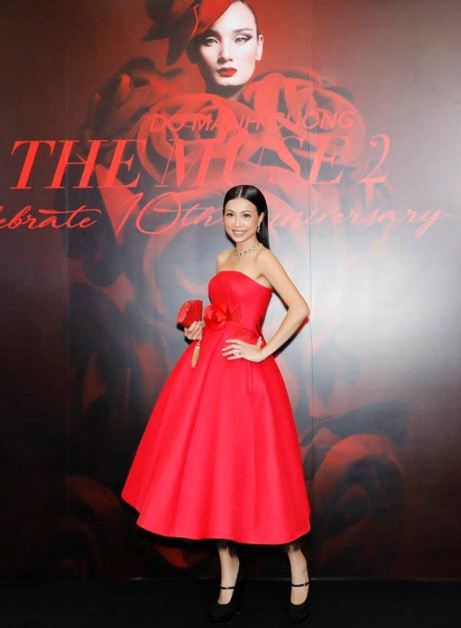 Vào năm 2017, ngườiđẹp bất ngờ xuất hiện trong một sự kiện thời trang của làng giải trí Việt và nhận được nhiều sự chú ý bởi nhan sắc trẻ trung, cuốn hút sau nhiều năm vắng bóng.