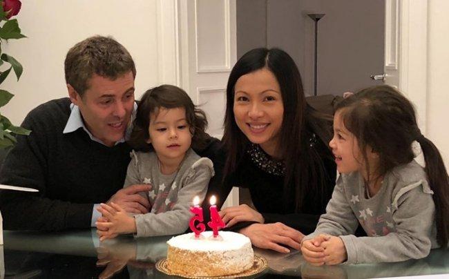 Hiện tại, Ngô Mỹ Uyên có cuộc sống hạnh phúc, viên mãn bên cạnh ông xã người Ývà các con.