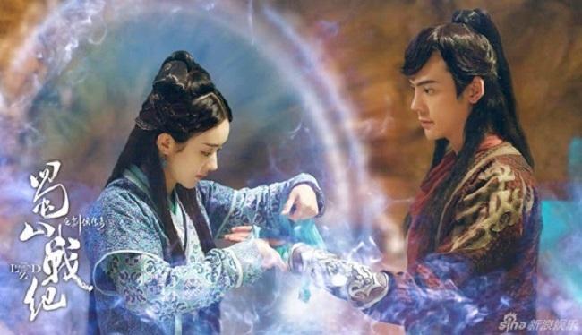 """Một tác phẩm đại diện nữa của Triệu Lệ Dĩnh cũng có kỹ xảo """"thảm"""" chẳng kém """"Hoa thiên cốt"""" là """"Thục sơn chiến kỷ kiếm hiệp truyền kỳ""""."""