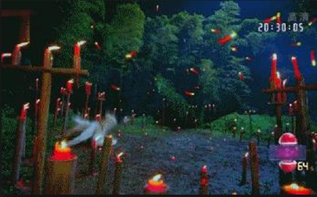"""Năm 2016, một trong những nguyên nhân khiến tác phẩm bom tấn """"Ngũ thử đại náo Đông Kinh"""" trở thành bom xịt chính vì kỹ xảo quá giả. Một trong những đoạn bị ném đá nhiều nhất trong phim chính là cảnh Bạch Ngọc Đường (Trần Hiểu) xuất hiện với một màn hình đầy nến bay lượn."""