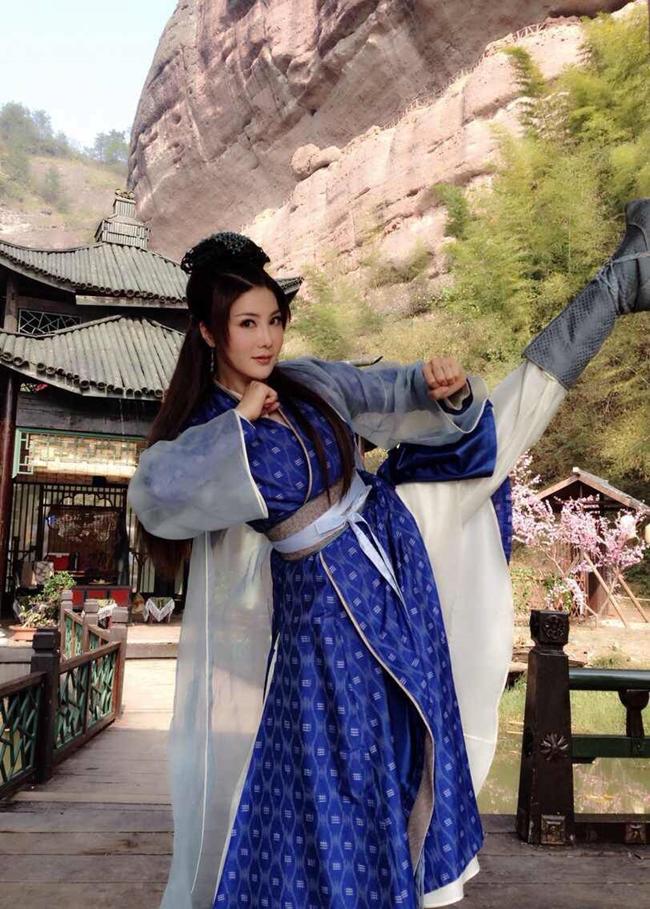Dù vướng bê bối đời tư, Dương Lệ Thanh vẫn tích cực luyện thể thao với mong muốn tái xuất màn ảnh.