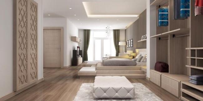 Căn nhà siêu sang với nội thất sang trọng, độc đáo và khá hiện đại.