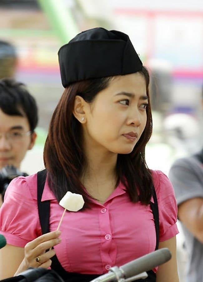 """Gần như trái ngược với Nhã Phương, Mai Phương- nữ diễn viên cũng vào vai bạn học của Nhã Phương trong """"Những thiên thần áo trắng"""" lại có cuộc đời nhiều nước mắt."""