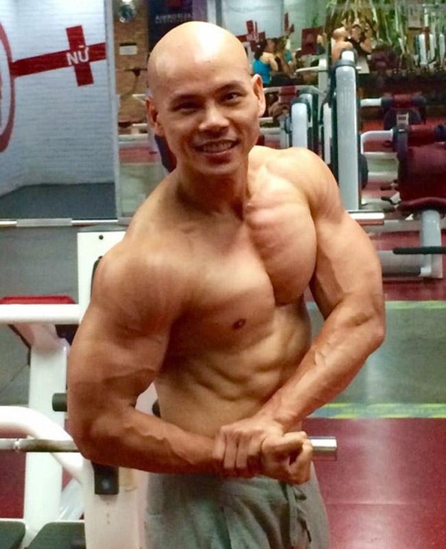 Chỉ trên dưới 1m70 nhưng Đan Trường, Phan Đinh Tùng...vô cùng tráng kiện - 14
