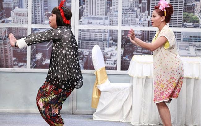 Những pha hài hước của cả hai trên sân khấu luôn tạo niềm vui cho khán giả.