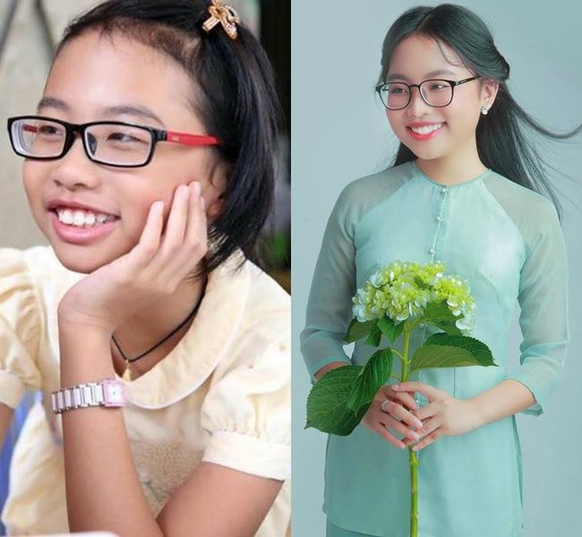"""Phương Mỹ Chi được biết đến rộng rãi sau khi giành ngôi vị quán quân cuộc thi """"Giọng hát Việt nhí""""."""