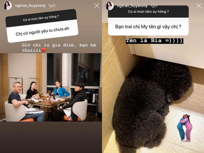 Sau tin cặp kè cầu thủ Đức Huy, Á hậu Huyền My bất ngờ tiết lộ tên bạn trai - 1
