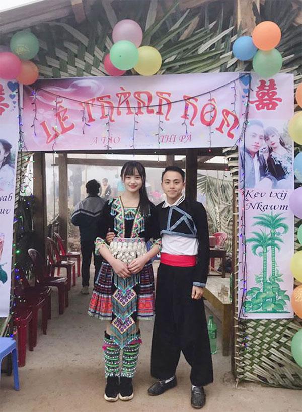 Cô dâu người dân tộc xinh như hoa trong đám cưới Tây Bắc - 1