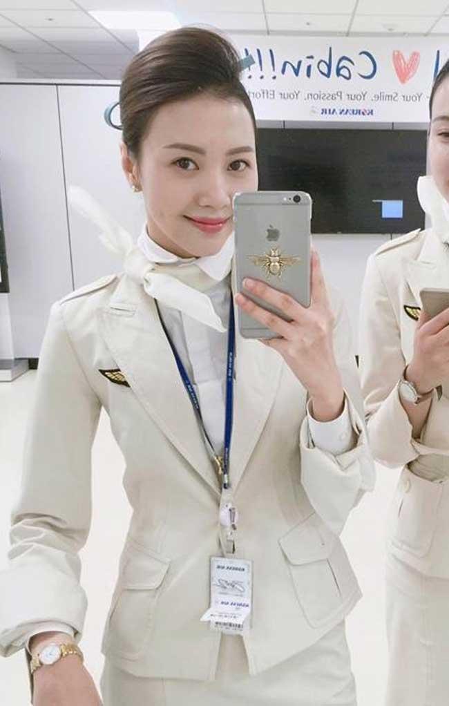 """Cách đây vài năm, Vũ Ngọc Châm được ca ngợi là """"nữ tiếp viên hàng không có vẻ đẹp hoa hậu""""."""
