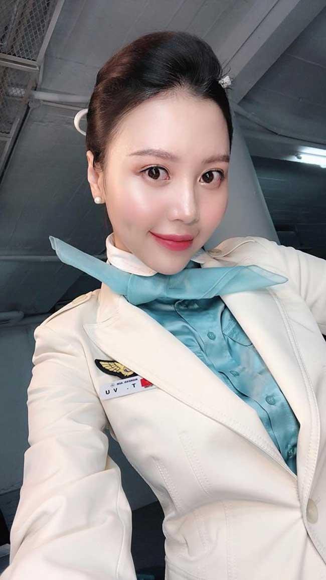 Vũ Ngọc Châm là cựu tiếp viên của hãng hàng không Korean Air.