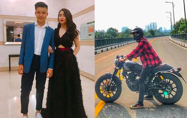 Người đẹpcòn không ngại chi số tiền lớn để mua motor xịntặng em trai trong dịp sinh nhật.