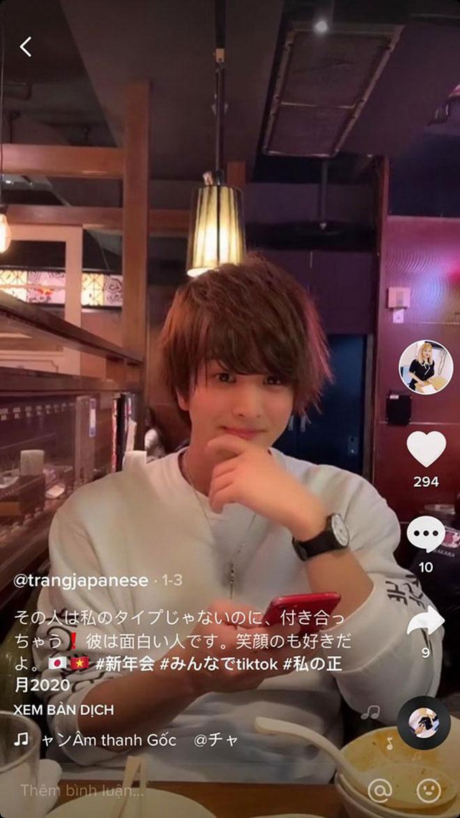 Nữ sinh Hải Dương bất ngờ khoe bạn trai người Nhật đẹp như tài tử - 3