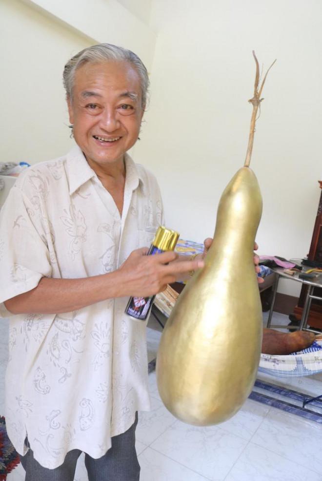 Lạ lùng những trái bầu siêu to, khổng lồ nặng từ 15-30 kg - 10