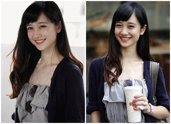 """Jun Vũ tên thật là Vũ Phương Anh, sinh năm 1995, là người gốc Hà Nội. Không chỉ nổi tiếng ở Thái Lan, người đẹp Hà thành còn được người hâm mộ trong nước đặt cho biệt danh """"cô bé trà sữa bản Việt"""" nhờ ngoại hình xinh đẹp, trong sáng, dễ thương."""