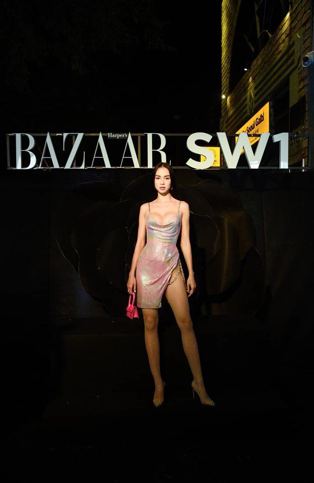 Mỹ nhân Việt sở hữu biệt thự 600 tỉ, Vũ Ngọc Anh mê váy xẻ hông cao, chằng dây xích - 4