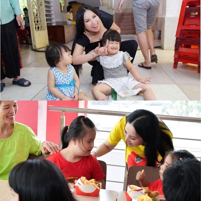 Phu nhân tỷ phú Chính Chu thường xuyên về nước tổ chức các buổi từ thiện giúp đỡ người nghèo, ngoài ra còn tham gia nhiều tổ chức phi chính phủ để hỗ trợ những mảnh đời bất hạnh.