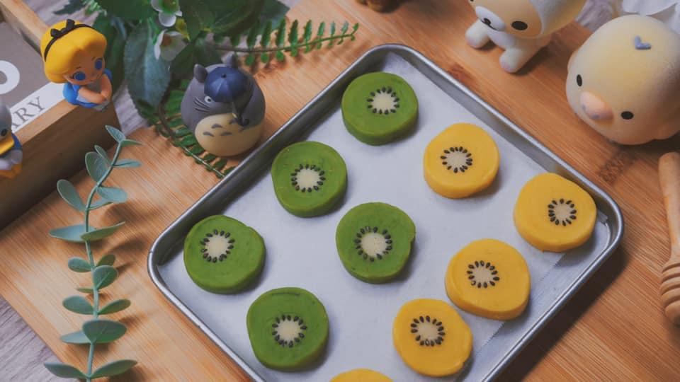 Bánh quyhình hoa quả ngũ sắcmời khách dịp Tết, vừa đẹp vừa ngon - 3