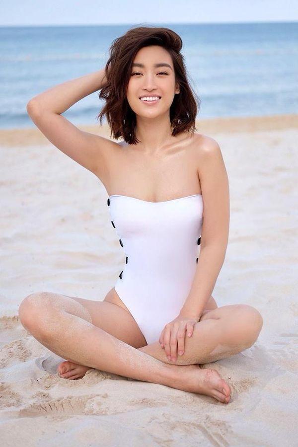 Kỳ Duyên cùng loạt hoa hậu, ai quyến rũ nhất khi diện bikini? - 2
