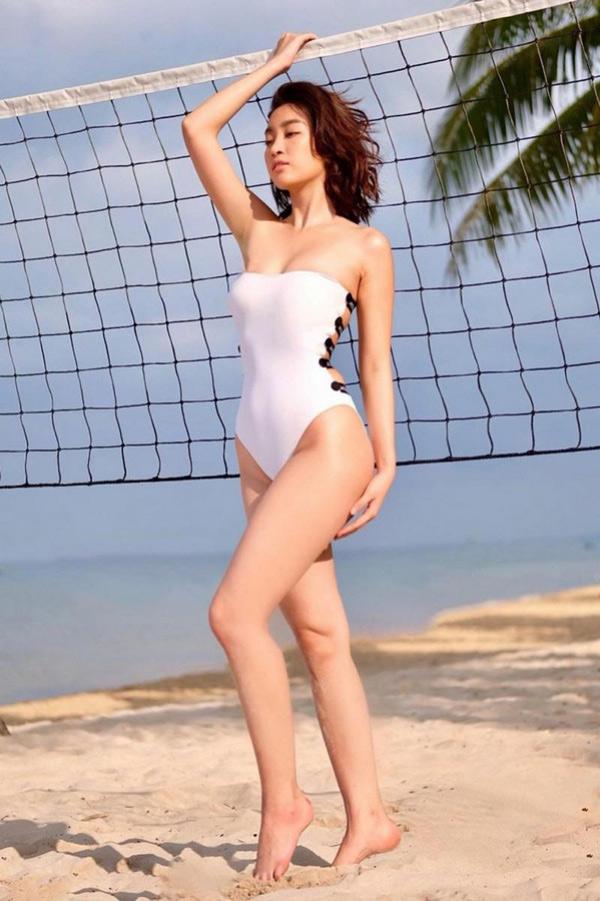 Kỳ Duyên cùng loạt hoa hậu, ai quyến rũ nhất khi diện bikini? - 1