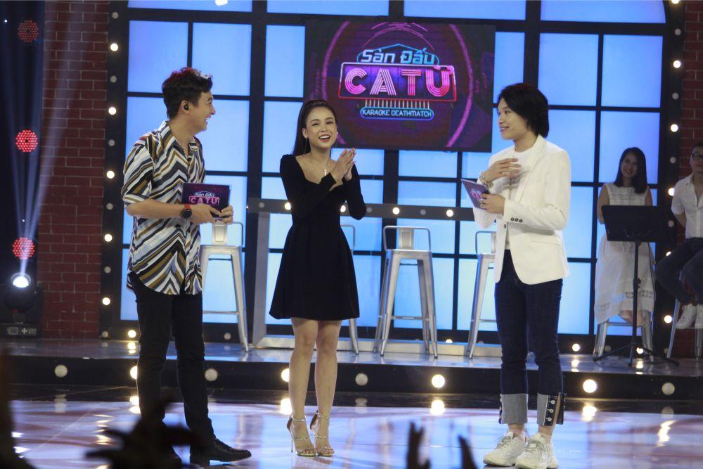 """Nhật Lê phản ứng """"gắt"""" trên truyền hình khi MC Sam thừa nhận thích Quang Hải - 3"""
