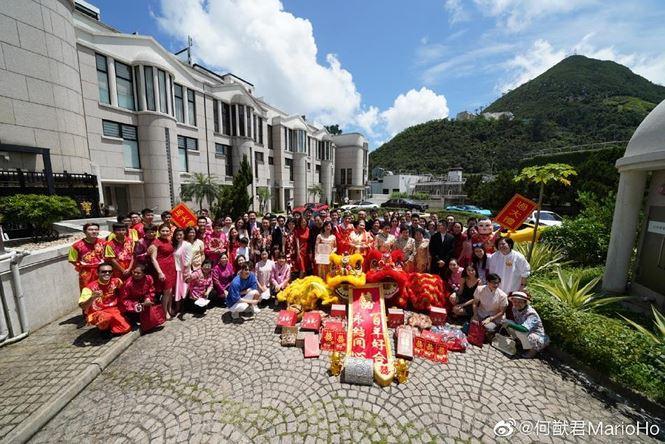Choáng với sính lễ toàn vàng ròng trong đám cưới con gái 'vua sòng bạc Macau' - 9