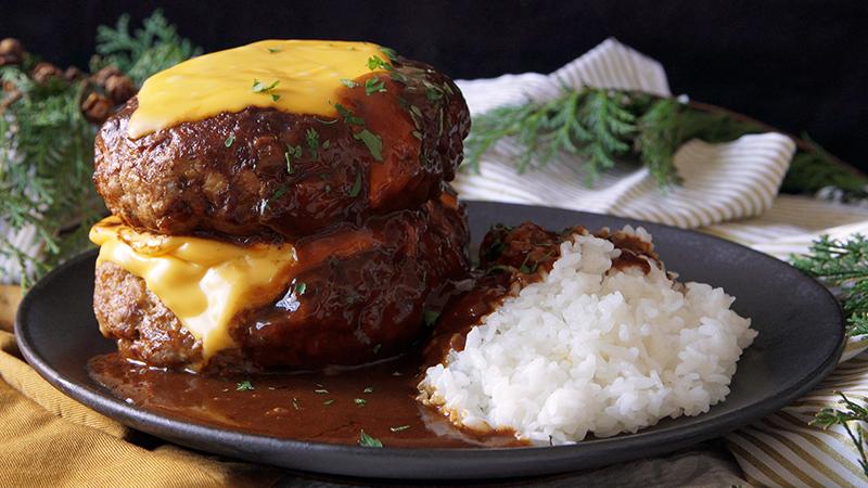 VIDEO: Cách làm thịt viên Hambuger kiểu Nhật ăn hoài không ngán - 1