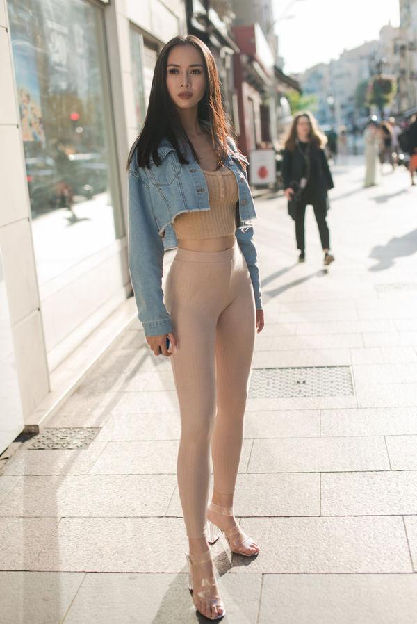 Hết hồn vì bộ đồ nude nhìn nhầm dễ hỏng mắt của người đẹp Việt - 6