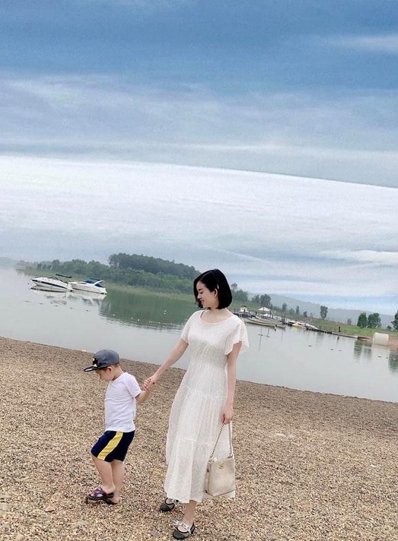 Ly Kute khoe ảnh con trai và phản ứng bất ngờ của Quế Ngọc Hải - 5