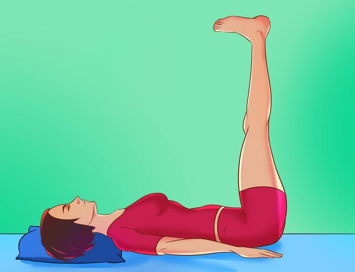 7 động tác thể dục đơn giản có thể tập ngay trên giường giúp cả ngày tràn đầy năng lượng - 5