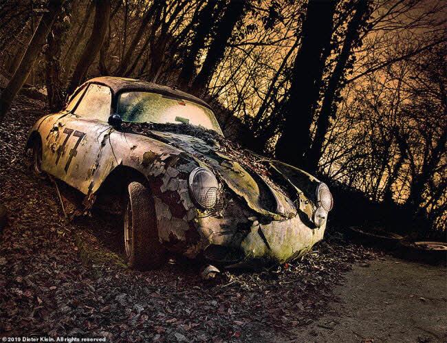 Vẻ đẹp ma mị của những chiếc ô tô bị thiên nhiên xâm lấn - 3