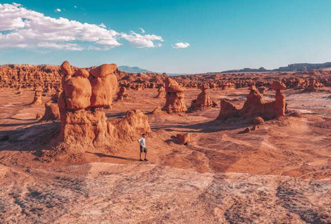Thung lũng yêu tinh khiến du khách ngỡ lạc tới sao hỏa - 3