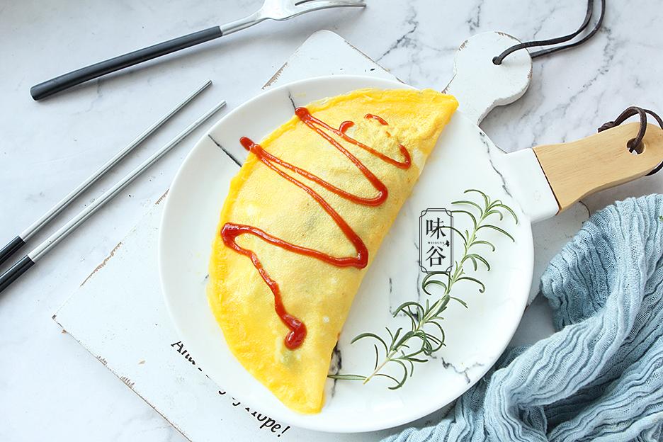 Tận dụng cơm thừa làm món trứng bọc cơm siêu hấp dẫn - 1