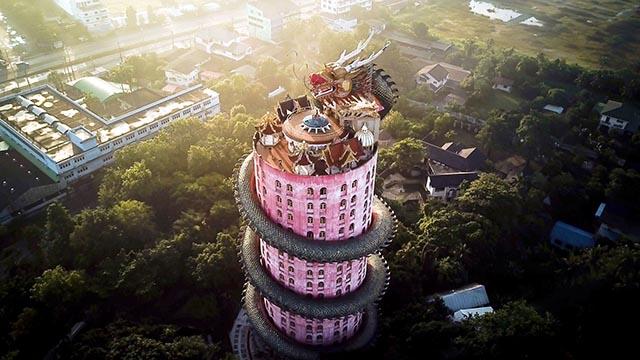 Ngôi đền có 1-0-2 ở Thái Lan, được bao quanh bởi một con rồng khổng lồ - 5